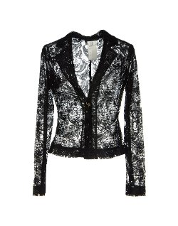 Pinko Black - Lace Long Sleeve Blazer
