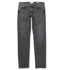 Frame Denim - Badlands Washed-Denim Jeans