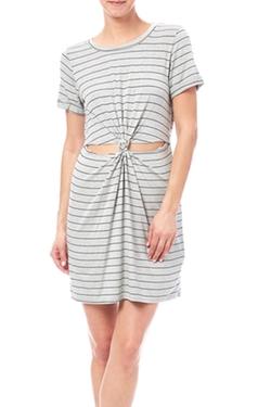 Honeypunch - Knot Cutout Dress