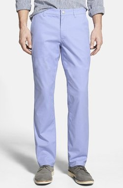 Bonobos - Straight Leg Washed Cotton Twill Chinos