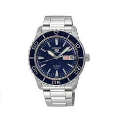 Seiko - Blue Dial Stainless Steel Watch