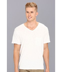 7 For All Mankind - V-Neck Pocket T-Shirt