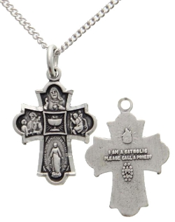 Catholic Faith Store - First Communion Cross Pendant