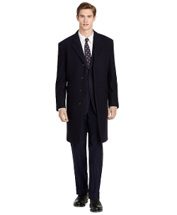 Brooks Brothers - Navy Chesterfield Coat