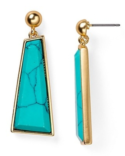 Dylan Gray - Stone Drop Earrings