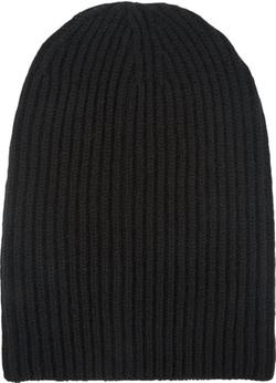 Barneys New York - English Rib-Knit Beanie Hat