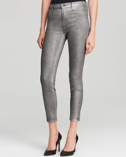 J Brand Jeans  - Stocking Alana High Rise Ankle Crop In Midnight Metal