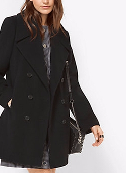 Michael Kors - Wool and Cashmere Peacoat