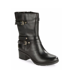 Bandolino  - Ursal Leather Double Buckle Boots
