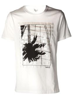 Kenzo - Palm Tree Print T-Shirt