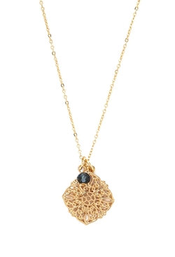Forever 21 - Filigree Flower Pendant Necklace