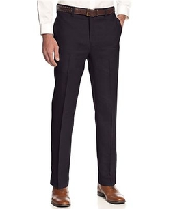 Lauren Ralph Lauren  - Solid Linen Dress Pants