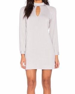 Blq Basiq - Turtle Neck Jersey Dress