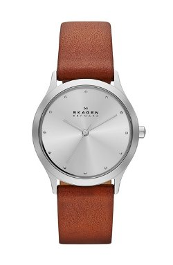 Skagen - Jorn Leather Strap Watch