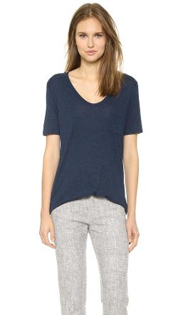 T by Alexander Wang - Classic Tee with Pocket