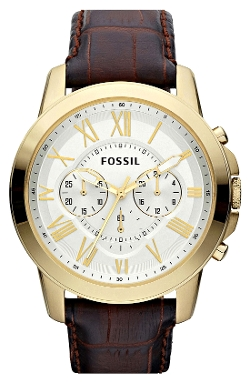 Fossil - Grant Round Chronograph Watch
