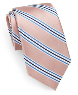 Saks Fifth Avenue  - Silk Stripe Tie