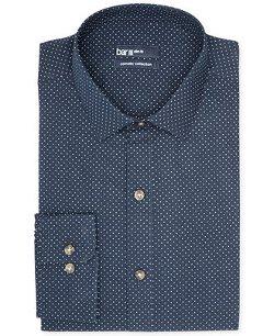 Bar III Carnaby Collection - Dot Print Dress Shirt