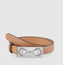 Gucci - Horsebit Buckle Leather Belt