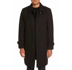 Reaction Kenneth Cole  - Wool Blend Overcoat