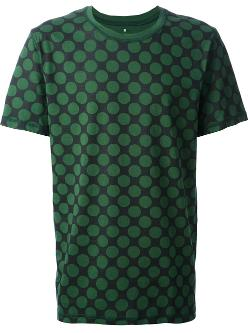 Kris Van Assche  - Dot Print T-shirt