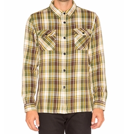 Undefeated - Und Plaid Flannel Button Down