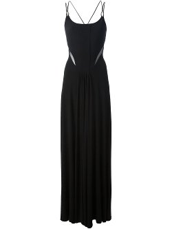 Ralph Lauren Black  - Spaghetti Strap Maxi Dress