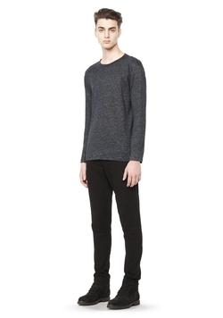Alexander Wang - Long Sleeve Linen T-Shirt