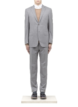 Canali - Notched Lapel Wool Suit