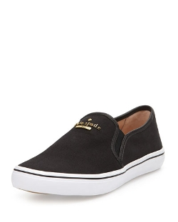 Kate Spade New York - Sylus Canvas Slip-On Sneakers