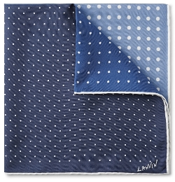 Lanvin - Four-Tone Polka-Dot Silk Pocket Square
