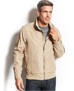 Izod - Full-Zip Bomber Jacket