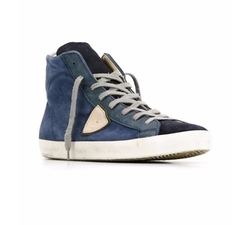 Philippe Model - Logo Patch Hi-Top Sneakers