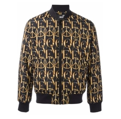 Love Moschino - Peace Print Bomber Jacket