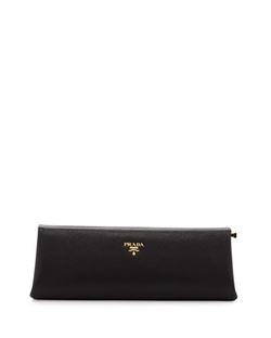 Prada - Saffiano East-West Frame Clutch Bag