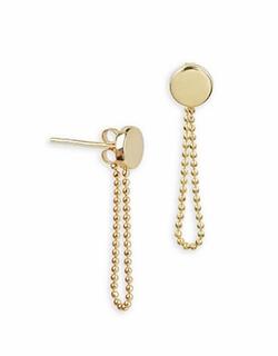 Lord & Taylor - Chain Drop Earrings