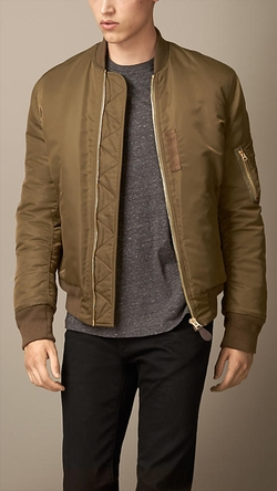 Burberry - Lightweight Bomber Jacket