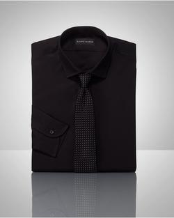 Ralph Lauren - Tailored Solid Poplin Shirt