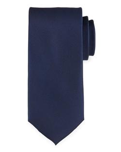 Neiman Marcus - Solid Navy Satin Tie