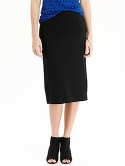 Old Navy - Jersey Midi Pencil Skirt