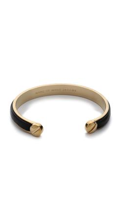Marc Jacobs  - Screw Leather Cuff Bracelet