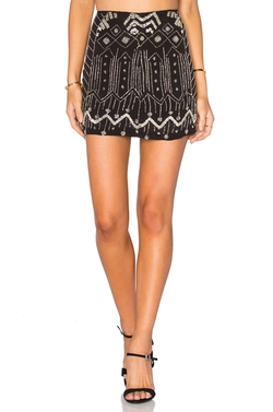 Tessora  - Embellished Mini Skirt