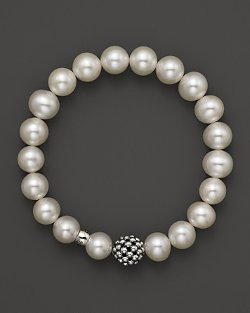 Lagos Caviar  - Ball Beaded Pearl Bracelet