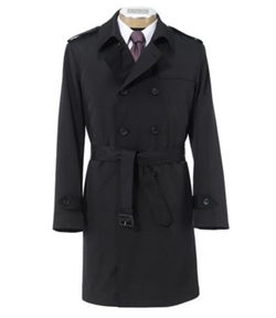 Traveler - Tailored Fit Double Breasted Raincoat