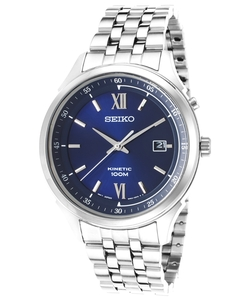 Seiko - Kinetic Stainless Steel Watch