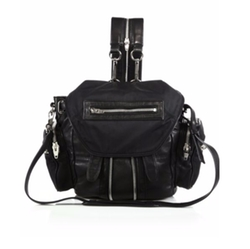 Alexander Wang - Marti Mini Convertible Nylon & Leather Backpack