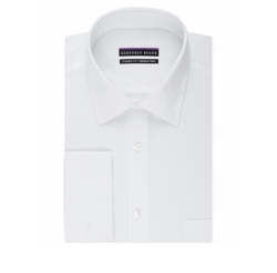 Geoffrey Beene - Solid French Cuff Dress Shirt