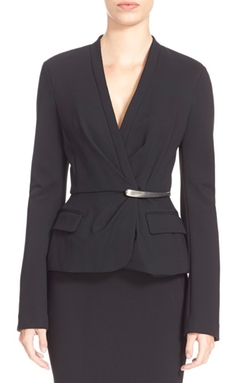 Donna Karan New York  - Element Hardware Peplum Jacket