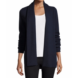 Neiman Marcus Cashmere Collection  - Open-Front Cashmere Cardigan