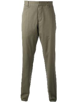 ANN DEMEULEMEESTER  - classic chinos